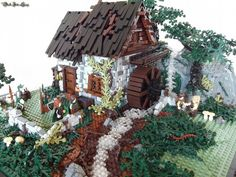 Darkmire Mill: A LEGO® creation by Luke Watkins : MOCpages.com