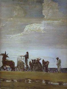 Odysseus and Nausicaa - Valentin Serov.