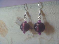 Purple Earrings, Bird Earrings, Earrings Photo, Drop Earrings, Lanyard Necklace, Nickel Free Earrings, Free Silver, Star Shape, Poet