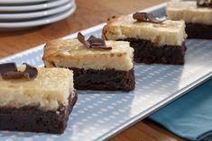 Brownie Cheesecake Bars | MrFood.com