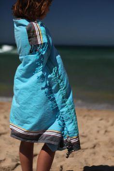 Kikoy traditional swahili sarong for the beach.