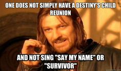 Boromir was disappointed by the half time show
