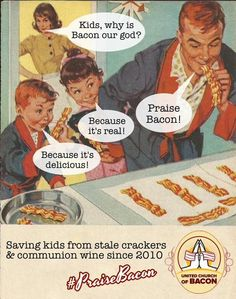 Atheist Church Mocks Christianity by Worshipping Bacon; Attracts Members With Free Weddings