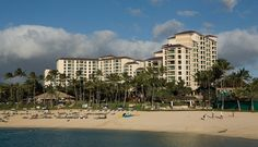 Marriott Ko'Olina Beach Club  - Amazing relazing vacation location.  You can walk along the four lagoons to the other four resorts including Disney's Aulani