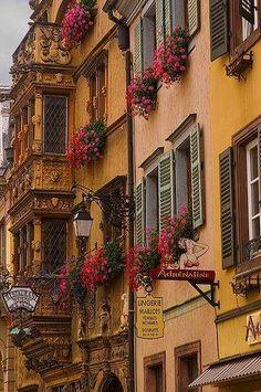 tassels:  Colmar ,France / windows