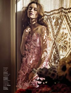 Audrey Marnay for Glamour Italia April 2015