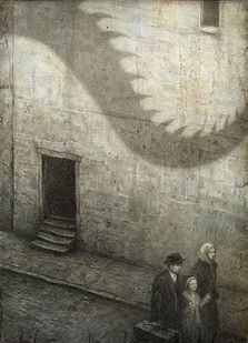 "Shaun Tan | Illustration for ""The Arrival"""