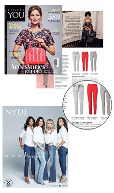 NYDJ : NYDJ IN THE PRESS - SIMPLY YOU MAGAZINE - MARCH ISSUE FEATURING NYDJ