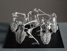 Skeletal Sculptures by Monika Horčicová: monika-horcicova14.png