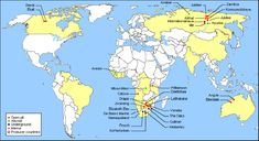 Diamond mines around the world