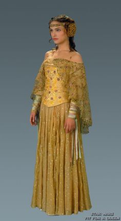 Amidala Meadow Dress Attack of the Clones