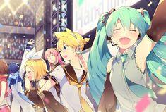 Tags: Vocaloid, MEIKO, KAITO, Hatsune Miku, Kagamine Rin, Kagamine Len, Megurine Luka