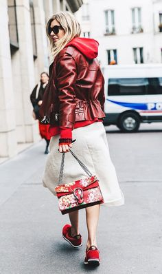 Gucci floral bag of our dreams.