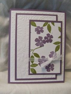 Best Blossom Birthday by Racheleah - Cards and Paper Crafts at Splitcoaststampers