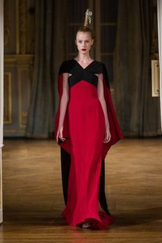 Alexis Mabille at Haute Couture Fashion Week Paris: A/W 2012-2013- Little red riding hood eat your heart out