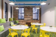 An open floor plan, multiple break out areas, work bunk beds (!), swings (!!) and the benefits of biophilic design make One Medical Group's new NYC office pretty much the coolest place we've ever seen. Tour our designer Casey DeBois's office tips in the slideshow!