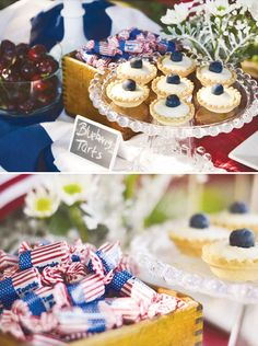 Rustic 4th of July celebration