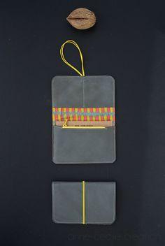 portefeuille cuir original, idée cadeau