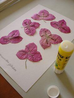 Arte e Manha: Emoldurar Flores Secas