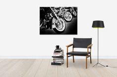Bikes in a Row - Canvas Print & Canvas Art - Photowall