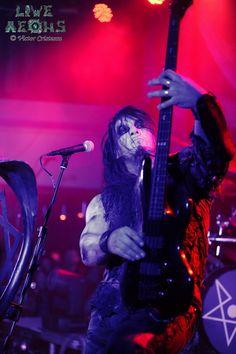 Orion, bassist of Poland's Behemoth.  The Big O.