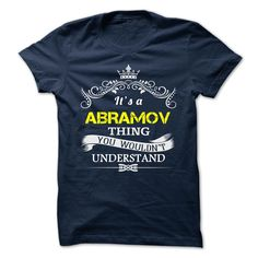 (New Tshirt Deals) ABRAMOV at Tshirt design Facebook Hoodies Tees Shirts