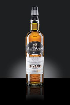 Spicy vanilla fruit, ripe apples and a rich, luxurious mouthfeel. This is the result of 18 long years and a generous proportion of first-fill sherry casks. And of the patience we take over the slowest distillation in Scotland.  http://www.glengoyne.com/our-whisky/bottle/18-year-old-highland-single-malt-scotch-whisky