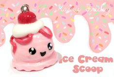 ◕‿‿◕ Ice Cream Scoop (Tutorial in Polymer Clay)