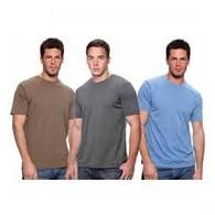 50/50 cotton/poly blend unisex tee shirts, many colors to choose from, see them all at www.IntraNationalMall.com