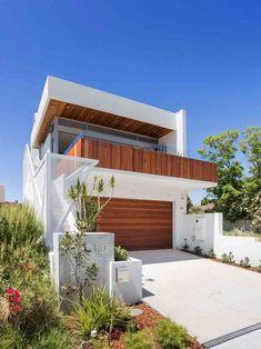 90 Fachadas de Sobrados Modernos: Projetos Incríveis! #fachadasmodernassobrado