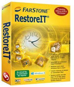 برنامج عمل صورة من النظام مع الملفات واستعادتها عند الحاجة Farstone RestoreIT v10.4 - برامج النسخ الاحتياطي للنظام والهاردسك - Backup & Restore Software