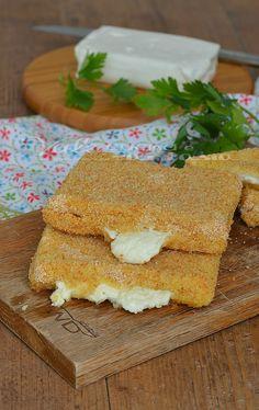 Stracchino in carrozza al forno ricetta facile Cornbread, Ethnic Recipes, Oven, Recipies, Corn Bread, Sweet Cornbread