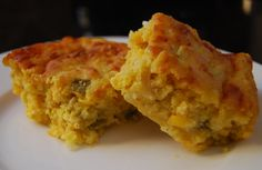 Mexican Cornbread This homemade Mexican-inspired cornbread gets spiced up with chopped green chiles. Easy Mexican Cornbread, Cornbread Recipes, Cornbread Casserole, Jalepeno Cornbread Jiffy, Moist Cornbread, Casserole Recipes, Mexican Dishes, Mexican Food Recipes, Mexican Cooking