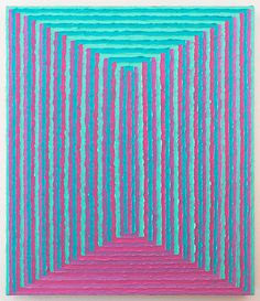 Todd Chilton ~ Two Combs Stacked, 2011 (oil)