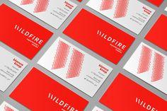 L'agence créative Cossette apporte une idée originale dans ce projet d'identité visuelle pour l'entreprise évènementielle Wildfire. En effet le logo est...