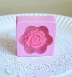 4 flower Soaps wedding favor soap Party Favor by ARTENJOYMENT