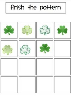 St. Patrick's Day is just around the corner so it's time to get prepping on these freaking adorable file folder activities! by theautsimhelper.com