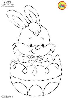 Easter Tracing and Coloring Pages for Kids - Free Preschool Printables and Worksheets, Fine Motor Skills Practice - Easter bunny, eggs, chicks and more on BonTon TV - Coloring books Spring Coloring Pages, Easter Coloring Pages, Coloring Pages For Kids, Coloring Books, Free Preschool, Preschool Printables, Preschool Crafts, Easter Crafts, Easter Activities For Kids
