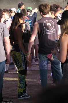 Brooklyn Beckham flirts with Madison Beer at Coachella | Daily Mail Online