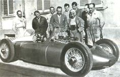 jacqalan:  1947. Designed by Ferry Porsche for Cisitalia.The...