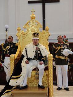 The King of Tonga - King George Tupou V