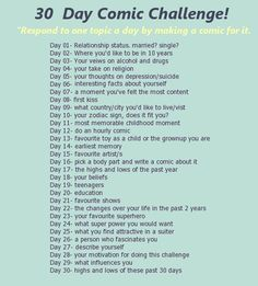 30 day comic challenge by miquashi.deviantart.com on @DeviantArt