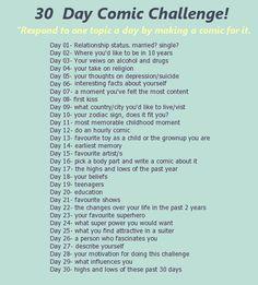 30 day comic challenge by miquashi.deviantart.com on @DeviantArt