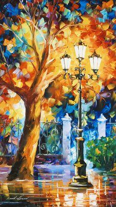 Romantic Aura by Leonid Afremov Limited Edition Canvas Wall Art