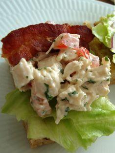 Healthy Pasta Recipes, Pasta Salad Recipes, Soup Recipes, Cooking Recipes, Smoked Chicken Salad, Pasta E Fagioli Soup, Spaghetti Dinner, Healthy Toddler Snacks, Scandinavian Food