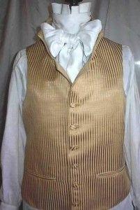 Inspiration for my stripped Regency waistcoat.    Regency man's waistcoat - Jane Austen Festival Bath