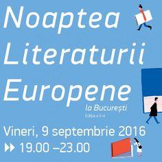 9 septembrie 2016, între orele 19.00 și 23.00 – lecturi, performance-uri…