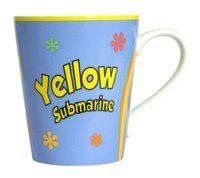 Kaffeebecher Yellow Submarine ♫♪ ☕ www.musiker-geschenke.com/Tassen