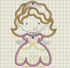 Check out this item in my Etsy shop https://www.etsy.com/listing/557000967/princess-sophie-line-applique-machine