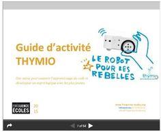 Un livret pédagogique en téléchargement gratuit pour utiliser #Thymio #classcode…